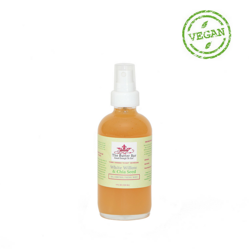 White Willow Chia Seed Oil Controlling Facial Mist Chia Seed Oil Geranium Essential Oil Putting On Makeup