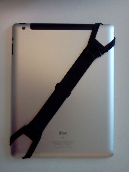 best sneakers 5b0c0 d0045 Do-it-yourself iPad hand strap | DIY | Tablet holder, Ipad, Tablet phone