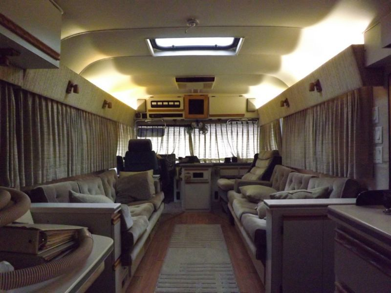 1986 Newell Coach Interior Motorhome Home Decor Interior