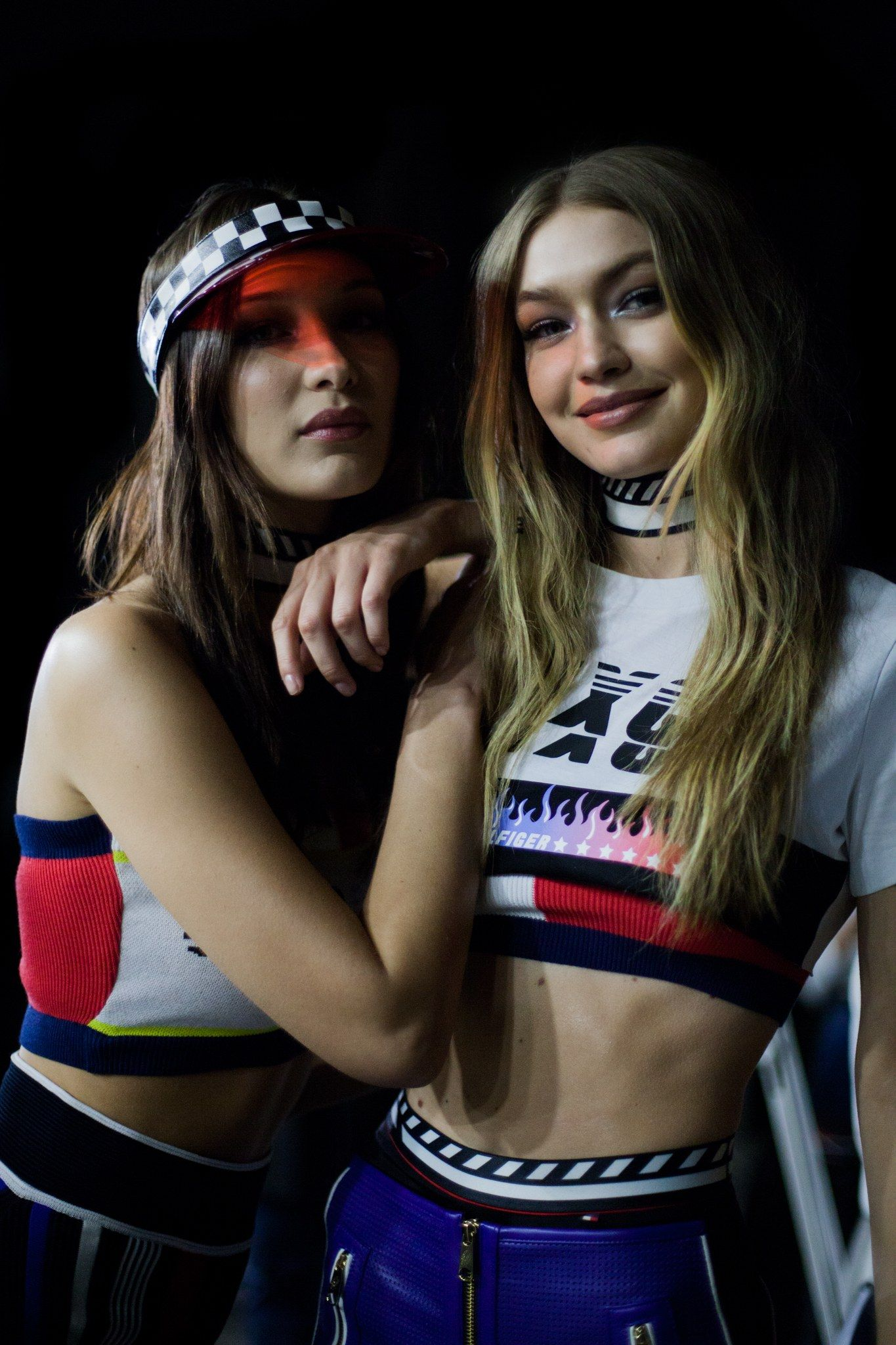 Gigi Hadid Made Her Final Tommy Hilfiger Show A Family Affair, With Bella and Anwar Also Hitting the Runway – gigi and bel