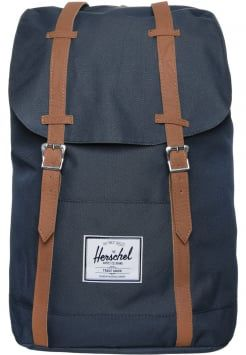 Herschel - RETREAT - Ryggsäck - navy tan  65e7a71ac9978