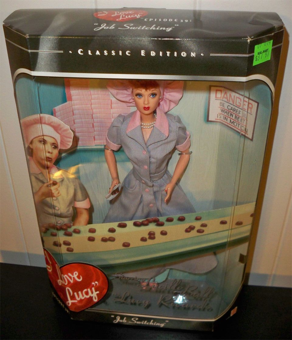 I Love Lucy  Barbie-Episode 39  Job Switching  Lucy Ricardo Doll