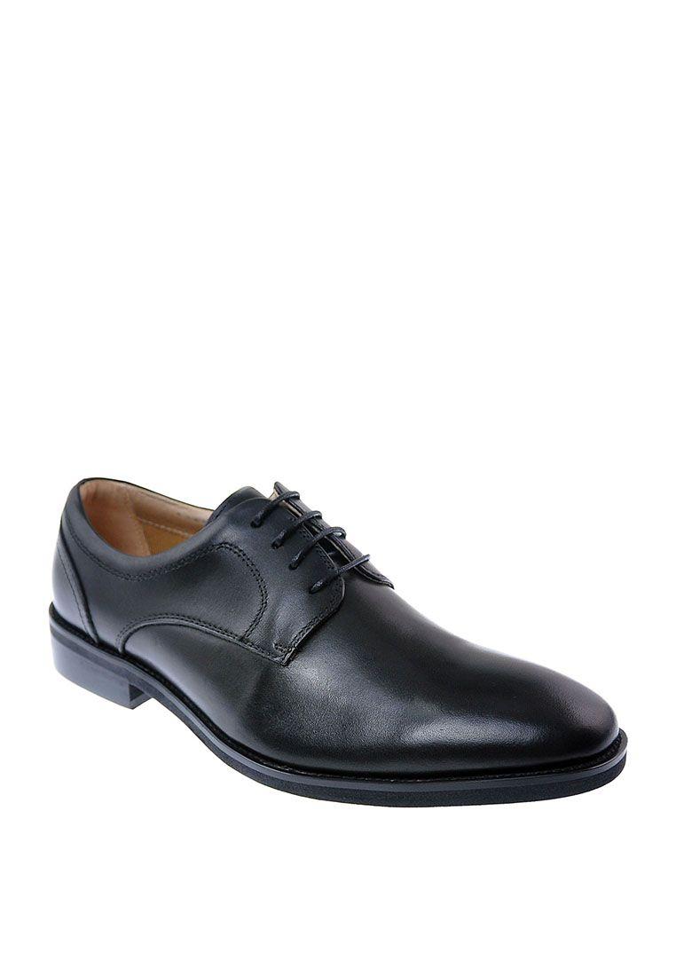 Powell Lace Up Black Leather Hush Puppies Mens Shoes Dress Shoes Men Men S Shoes