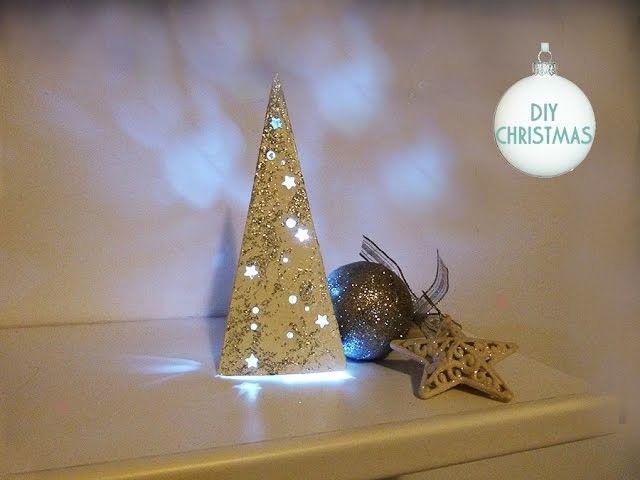 DIY: Albero di Natale luminoso