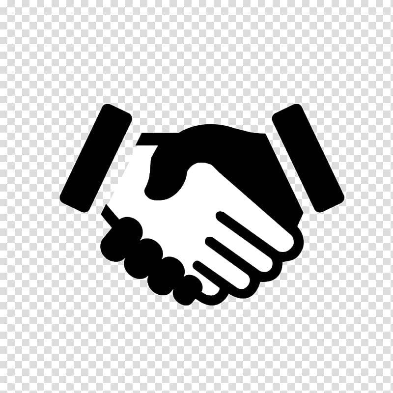 Black And White Hand Logo Computer Icons Handshake Symbol Shake Hands Transparent Background Png Clipart Hand Logo Computer Icon Hand Silhouette