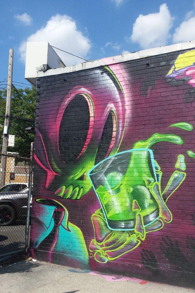 New York S Best Undiscovered Street Art Welling Court Street