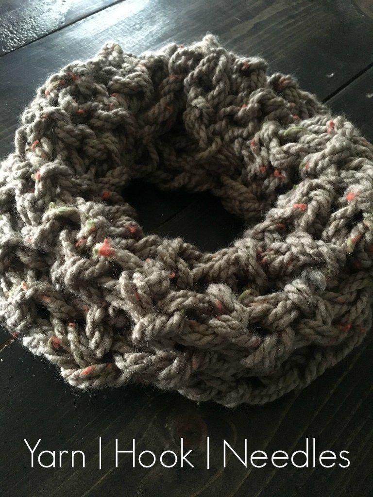 Knitted Infinity Scarf by BrennaAnnHandmade Etsy Shop – Yarn|Hook|Needles | Yarn|Hook|Needles