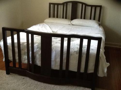 Vintage-bedroom-suite-Antique-Art-Deco-queen-bed-dresser-robe ...
