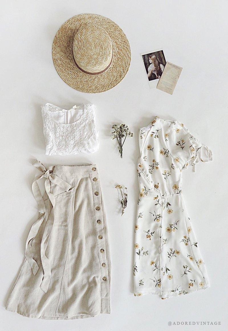 Feminine Romantic Vintage Boutique Adored Vintage Vintage Inspired Outfits Romantic Outfit Outfit Inspirations