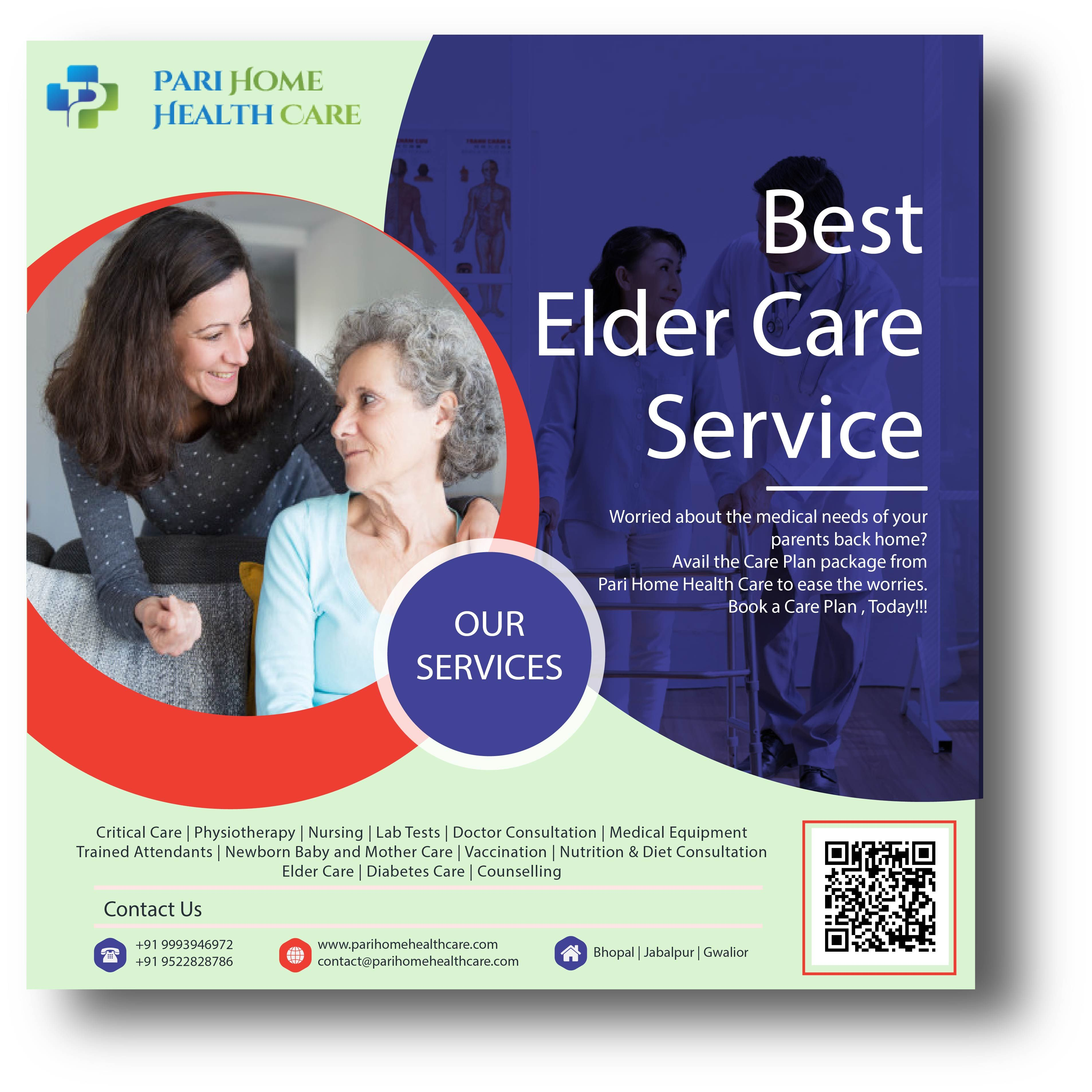 Pari Home Health Care Provides Caretaker Services In Bhopal And Elderly Care Bhopal Home Health Care Home Health Health Care