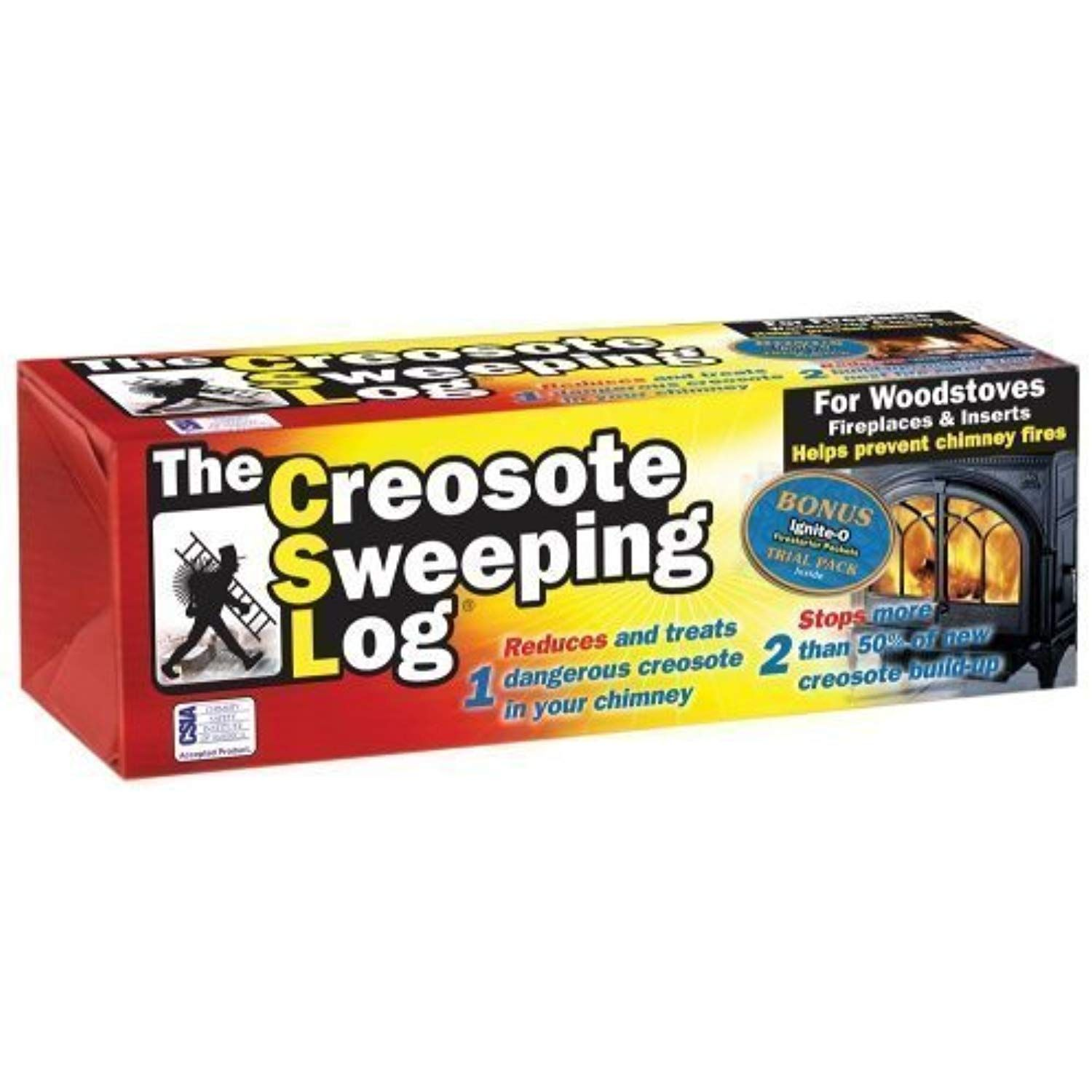 Creosote Sweeping Log For Fireplaces Pack Of 2 Learn More By Visiting The Image Link This Is An Affiliate Link Clean Fireplace Home Depot Logs For Sale