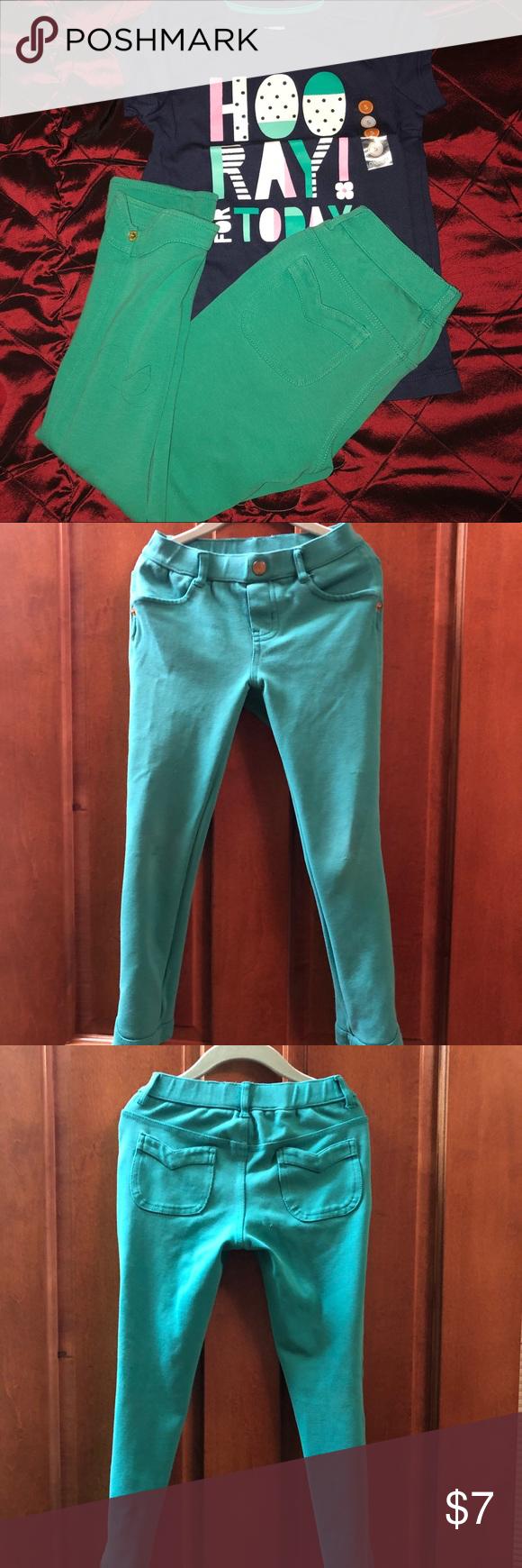 Gymboree Girls pants Green Gymboree pants Gymboree Bottoms Casual
