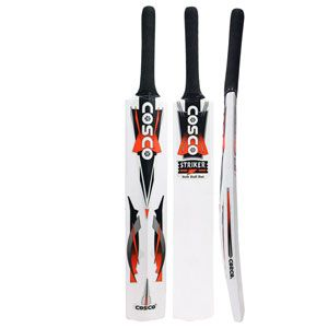 Cosco Striker Cricket Bat Kashmir Willow Bats Have Some Different Characteristics From English Willow Made Bats And Eve Cricket Sport Cricket Equipment Cosco