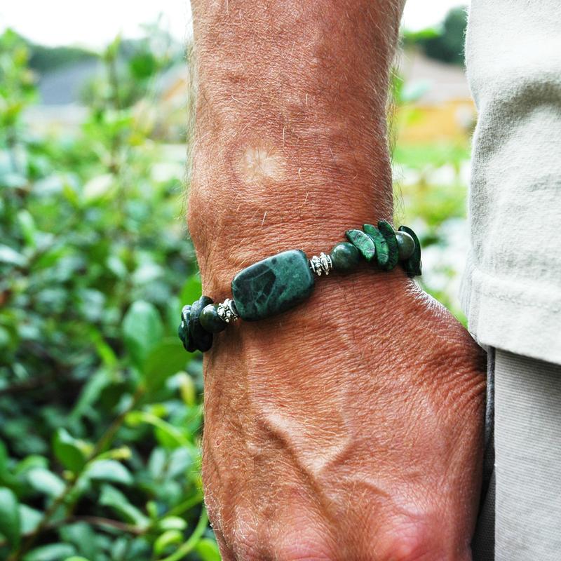 Mens jewelry jade jasper betel nut a mens size just might fit mens jewelry jade jasper betel nut a mens size just might fit aloadofball Image collections