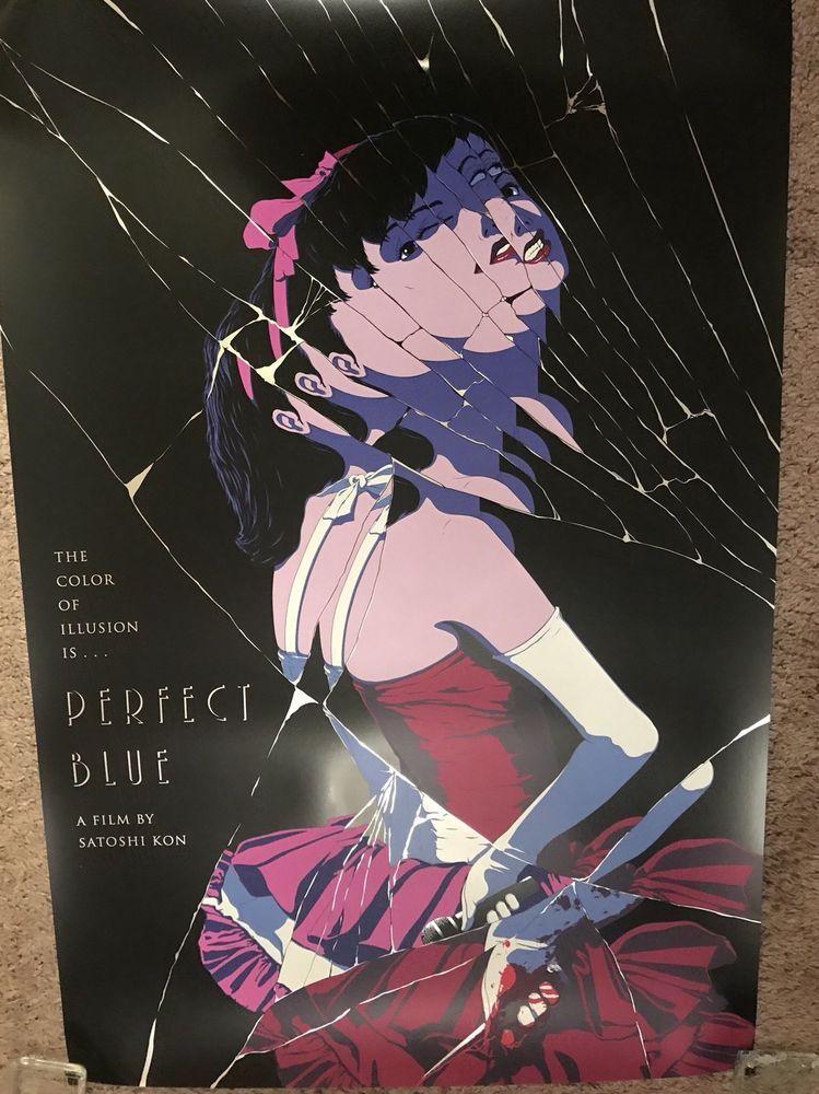 Ethan Sharp Perfect Blue Movie Art Foil Print Poster Mondo Japanese Anime Manga Anime Movie Art Japanese Poster