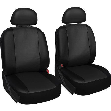 Oxgord Faux Leather Bucket Seat Cover Set For Car Truck Van Suv Airbag Compatible Loghomeinteri Leather Car Seat Covers Log Home Interiors Bucket Seat Covers