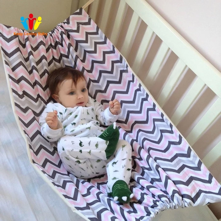 Infant Safety Baby Hammock Infant Cotton Bed Detachable Portable Sleep Travel