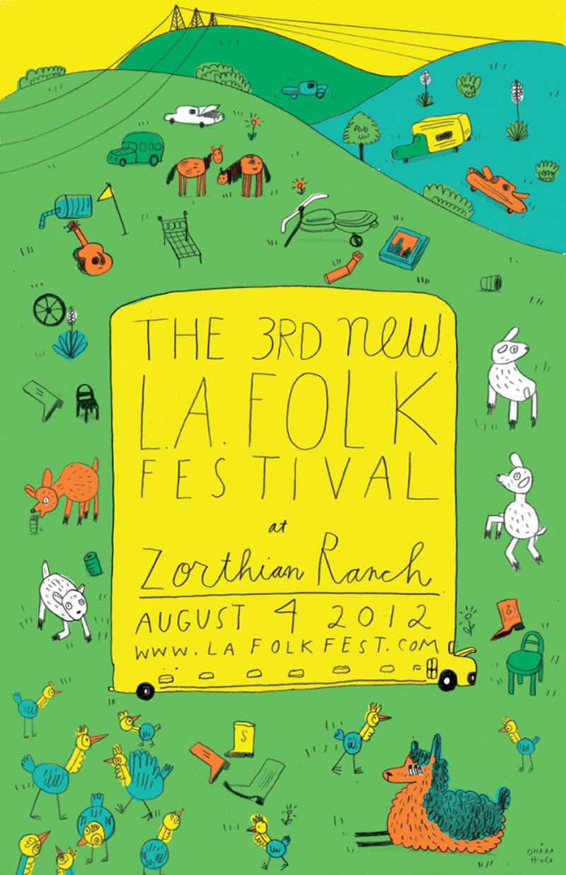 THE 3rd NEW LA FOLK FESTIVAL 2012
