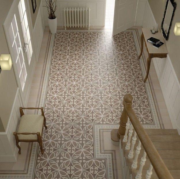 Carrelage 20x20 Caprice Loire Et Provence Equipe Ceramicas Equipe Ceramicas Carrelage Sol Interieur Ciment Et Decore Flooring Tiled Hallway Hallway Decorating