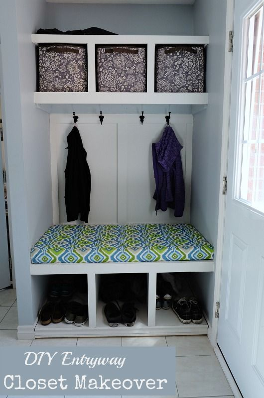Our DIY Entry Closet Makeover   One Project That We LOVE. Our Entry Hall Is