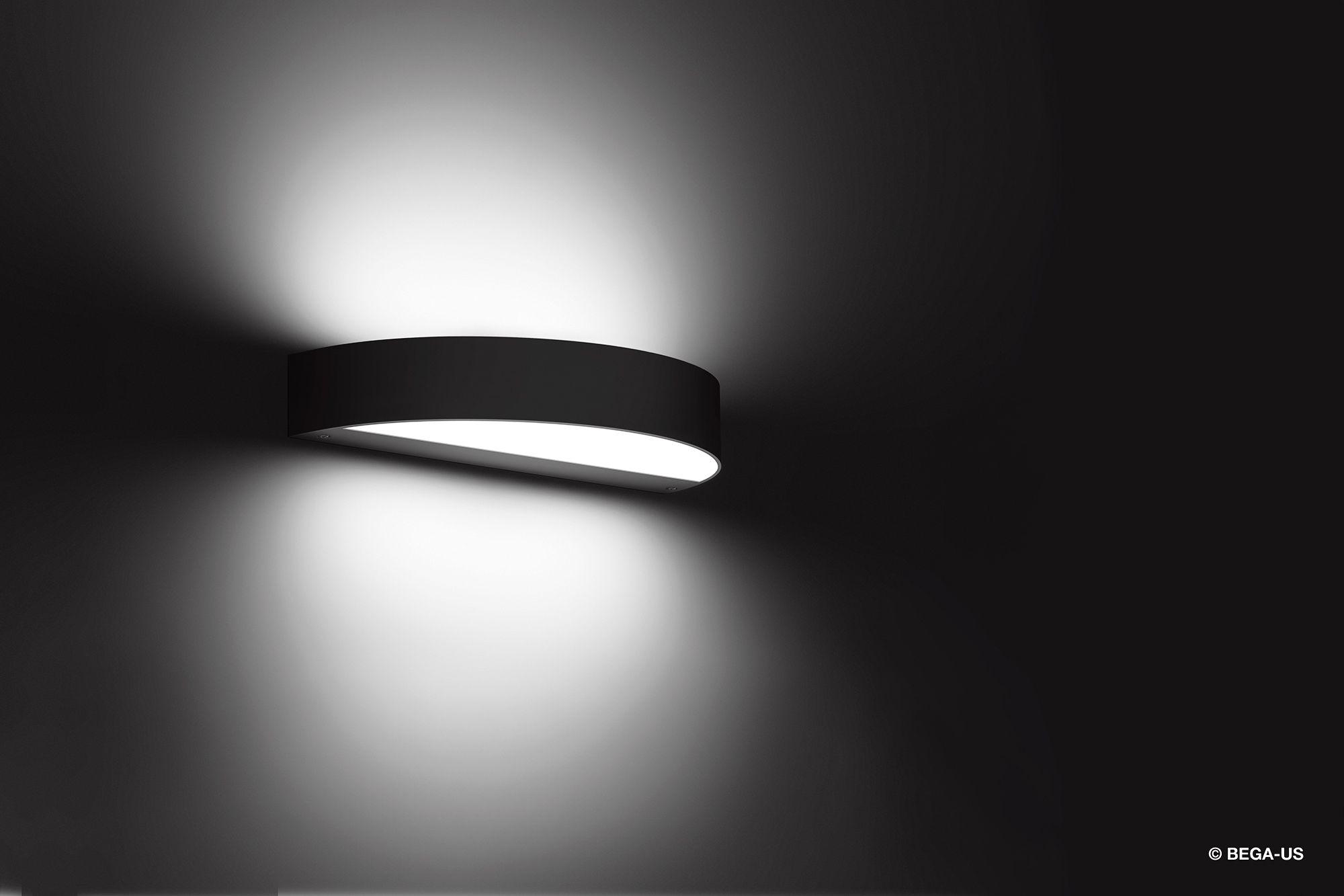 Semi Circular Led Luminaire With Dual