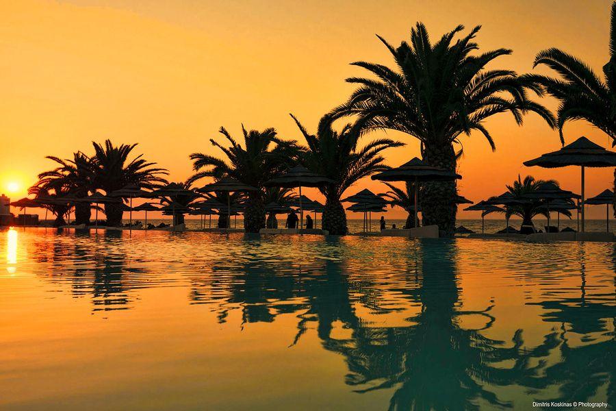 Sunset at Elina Hotel Rhodes Greece by Dimitris Koskinas, via 500px