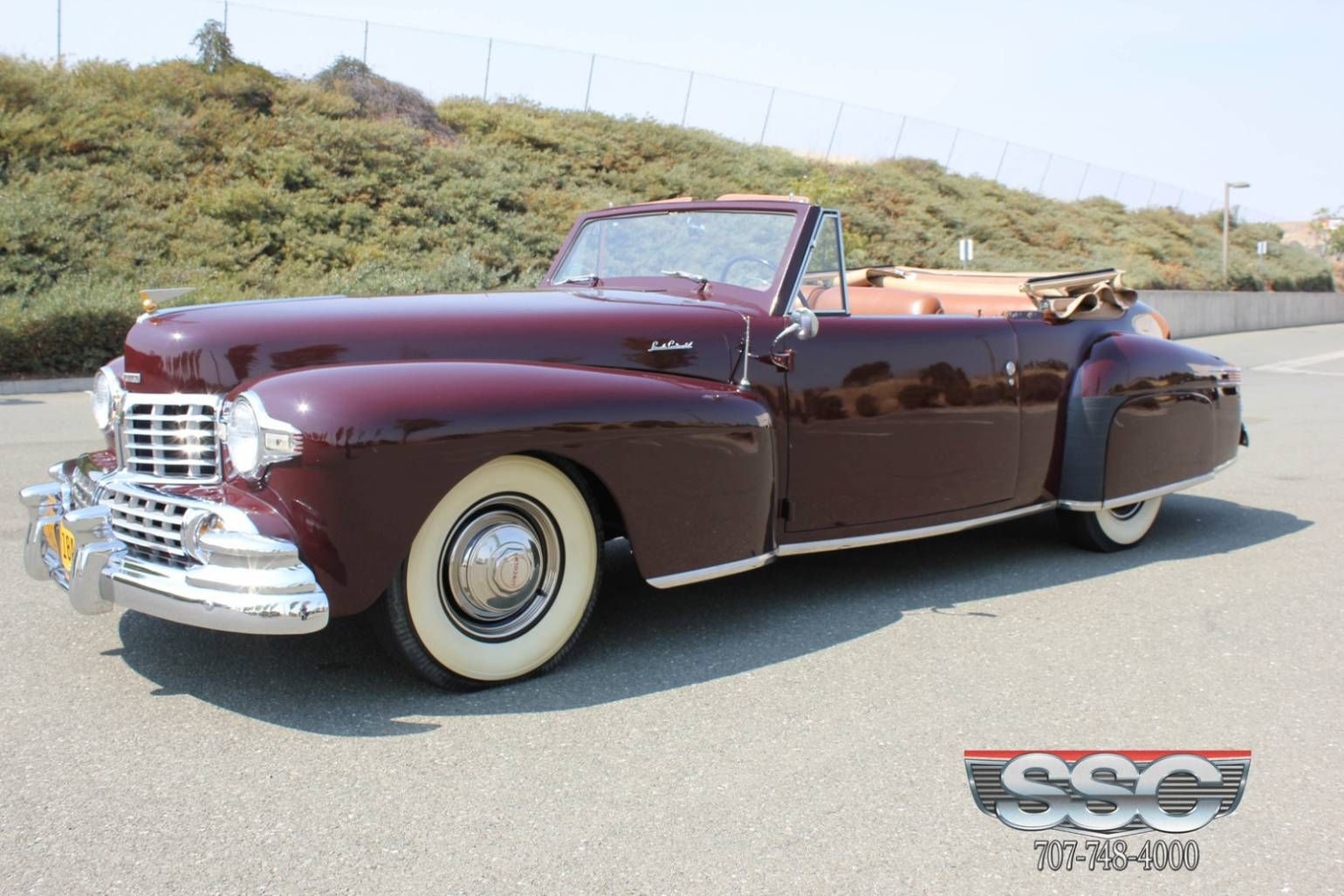 1947 lincoln continental convertible image 1 of 25