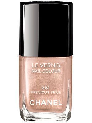 This sheer nude polish with flecks of gold shimmer makes nails look healthy and vibrant with minimal effort....