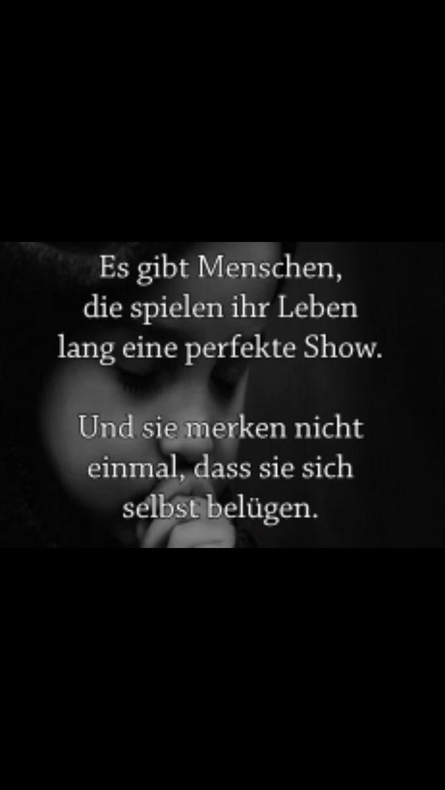 Selbst belügen! D.Holliger | Sprüche | Quotes, Wise quotes und Sad
