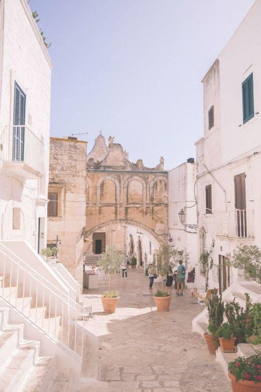Ostuni Puglia Italy A Unesco World Heritage Site The