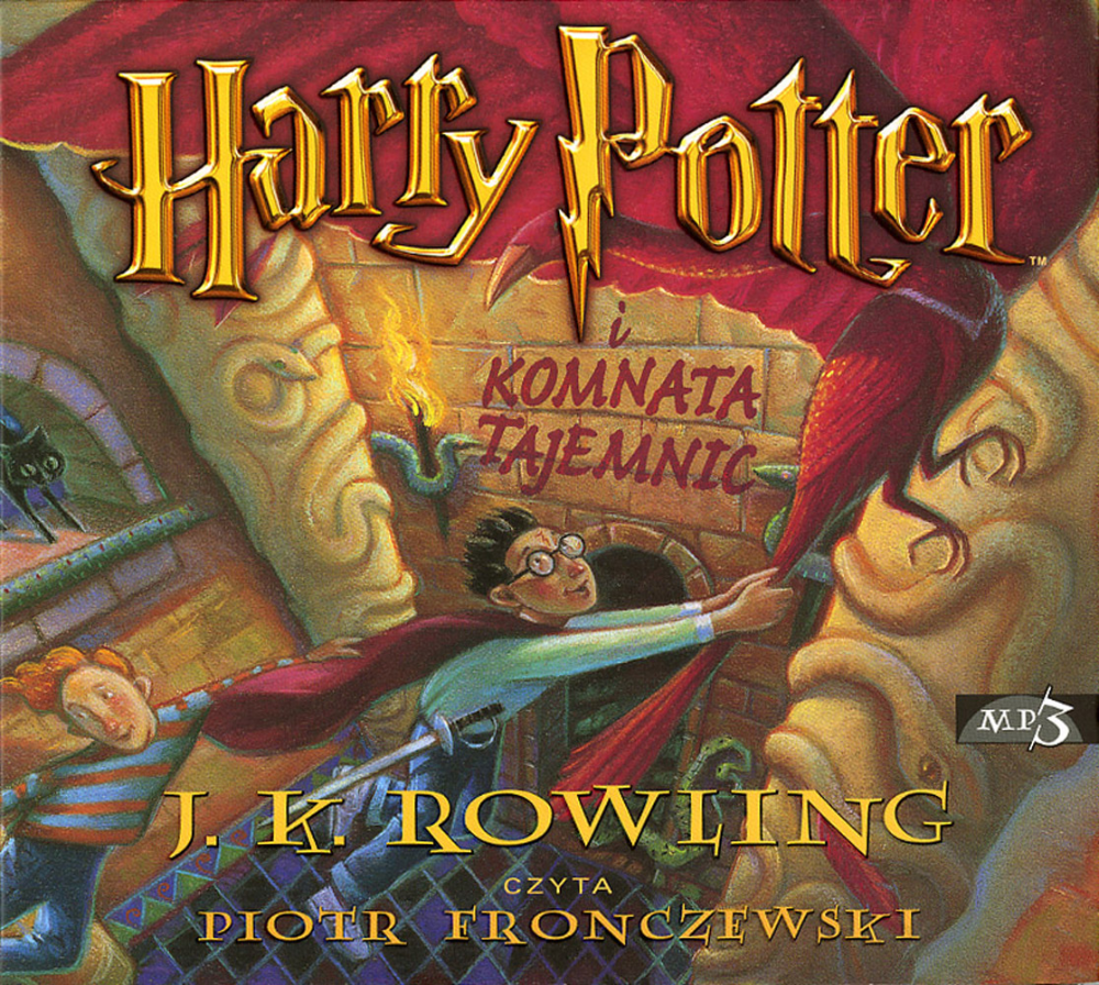 Harry Potter I Komnata Tajemnic Audiobook Audio Books Harry Potter Harry Otter