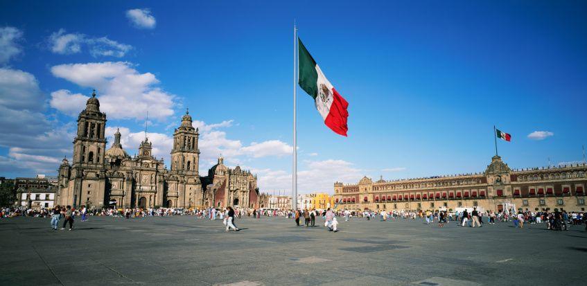 Plaza De La Constituci 243 N El Z 243 Calo M 233 Xico D F