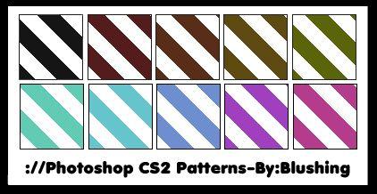 Candy Cane Pattern By BlushingDeviantartCom  Adobe Photoshop