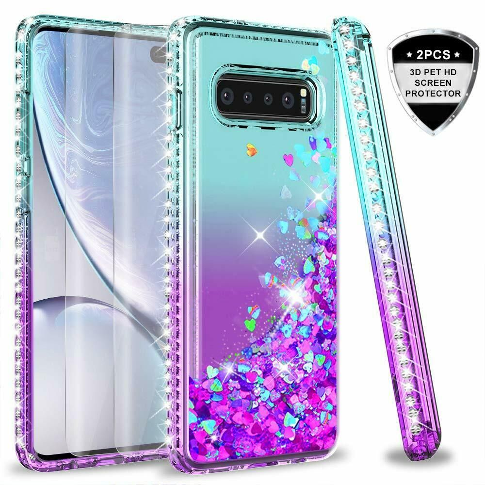 ec169bb925e For Samsung Galaxy S10 Plus Case Colorful Glitter Liquid Cover Screen  Protector - Phone Case Glitter - $13.91 End Date: Wednesday Mar-27-2019  12:49:49 PDT ...