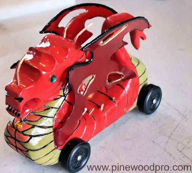 winning pinewood derby car designs