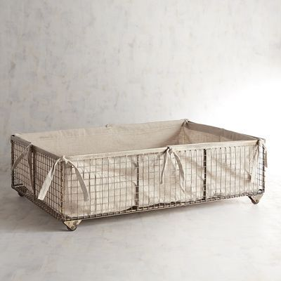 Covington Underbed Storage Basket Pier 1 Imports Under Bed Storage Bins Under Bed Storage Bed Storage