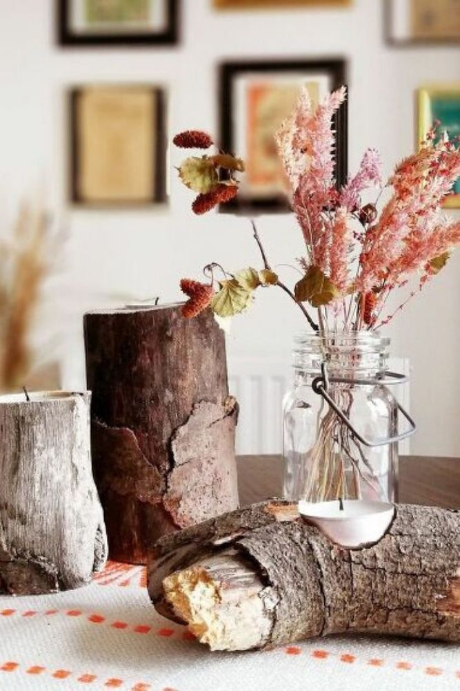 13 DIY Fall Thanksgiving Table Decorations #thanksgivingtablesettingideas