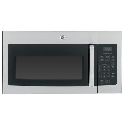 Ge 1 6 Cu Ft Over The Range Microwave In Stainless Steel Jvm3160rfss Stainless Steel Oven Ge Microwave Microwave Oven