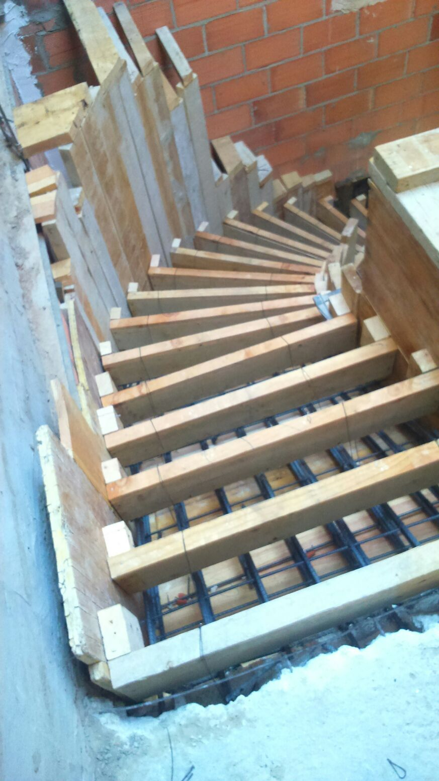 Vista desde planta alta detalles escaleras pinterest for Planos de escaleras de concreto armado