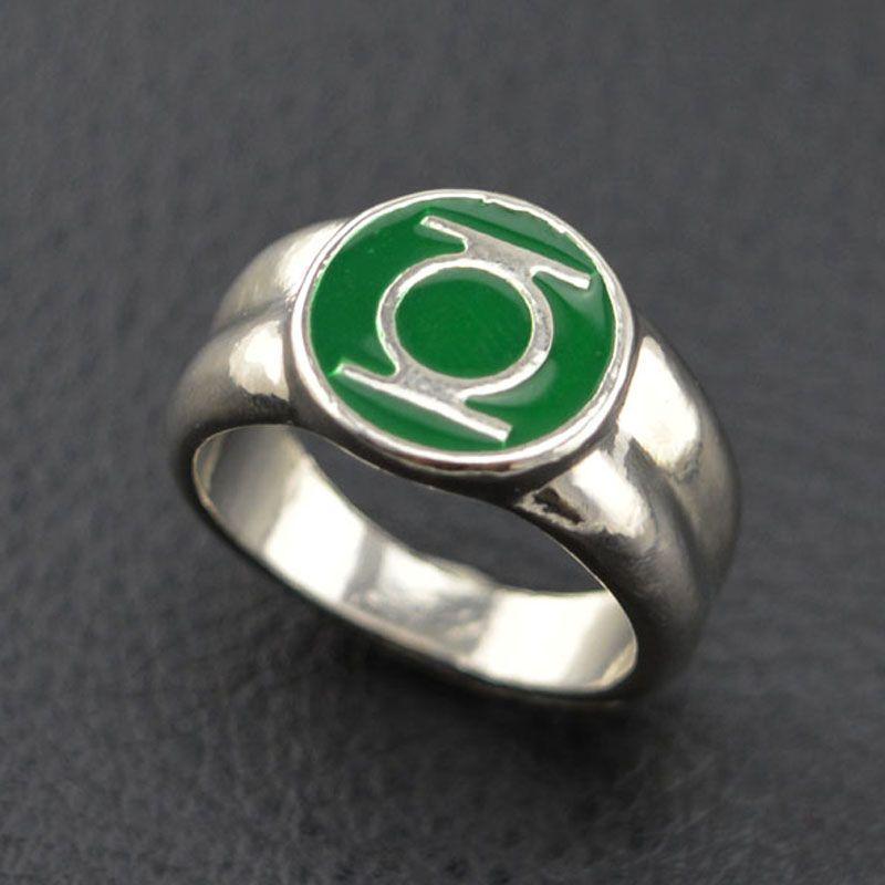 Goedkope 2015 Klassieke Legering Groene Lantaarn Ring