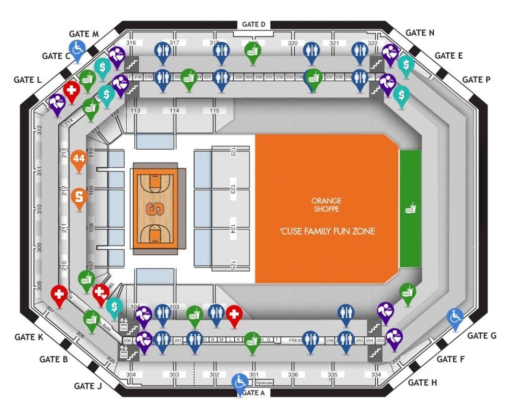 Carrier Dome Concert Di 2020 Dengan Gambar
