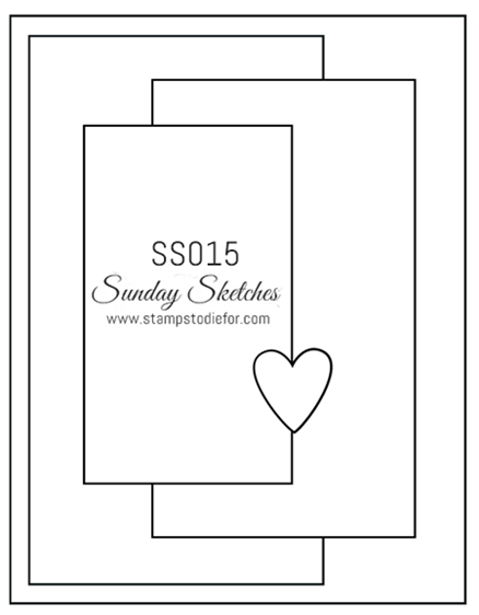 Sunday Sketches SS015 Suite Seasons Stamp Set by Stampin' Up!