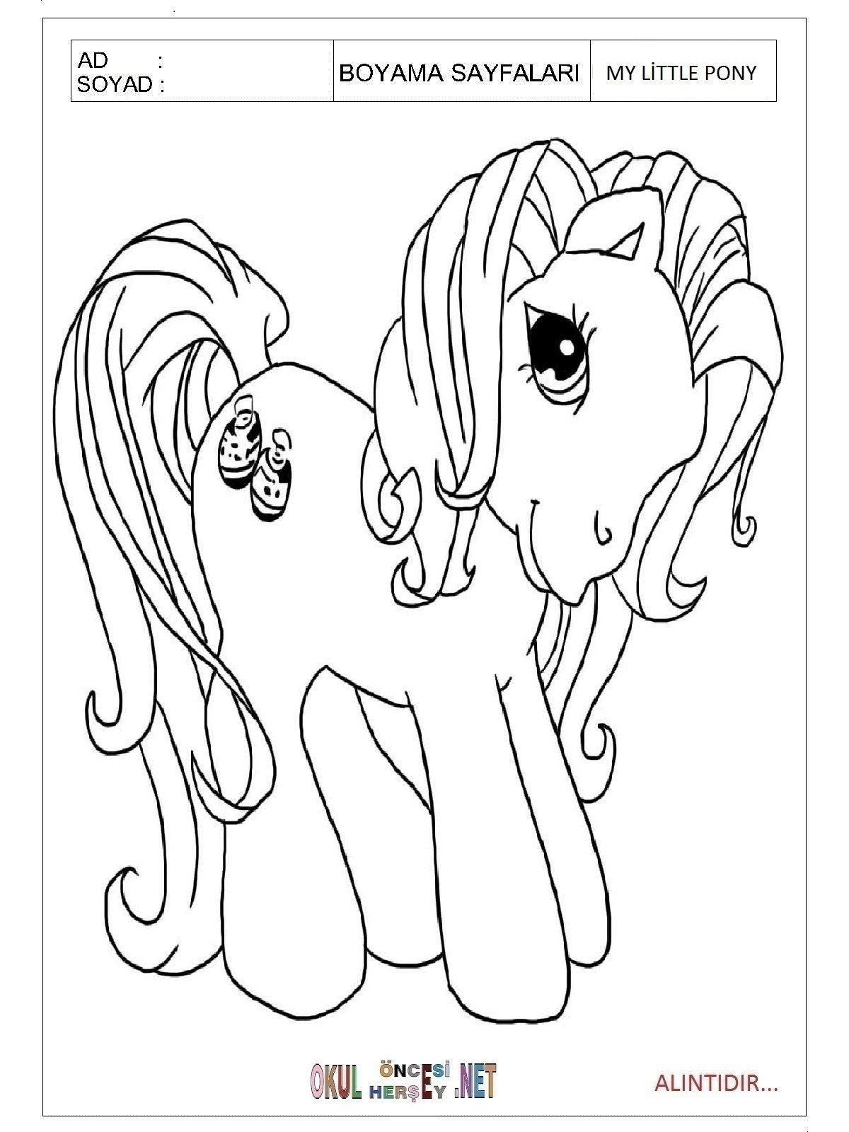 My Pony Boyama Sayfaları News To Gow Pinterest Pony