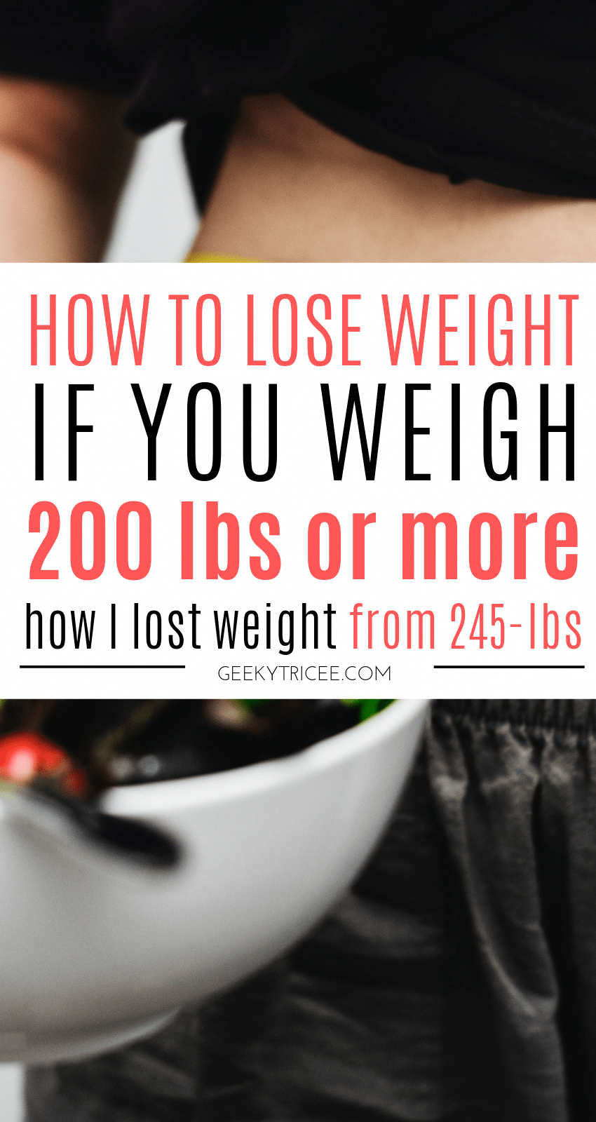 6 simple weight loss tips for losing weight if you weight over 200 lbs. My weight loss transformatio...