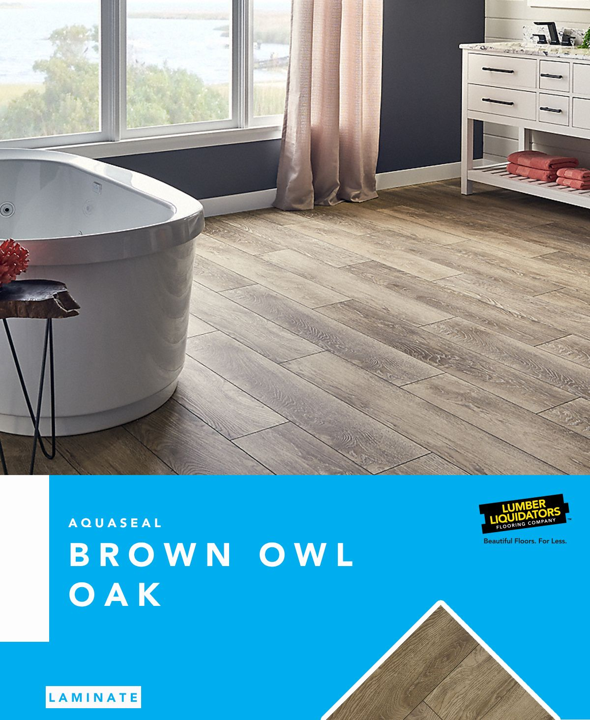 AquaSeal's Brown Owl Oak offers easy installation ...