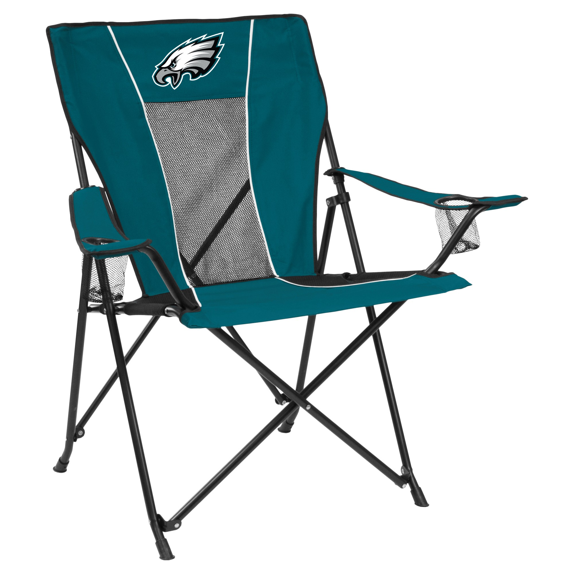 Nfl Philadelphia Eagles Portable Game Time Quad Chair