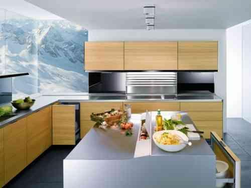 Aménager une cuisine design avec ilot central - plan de cuisine moderne avec ilot central