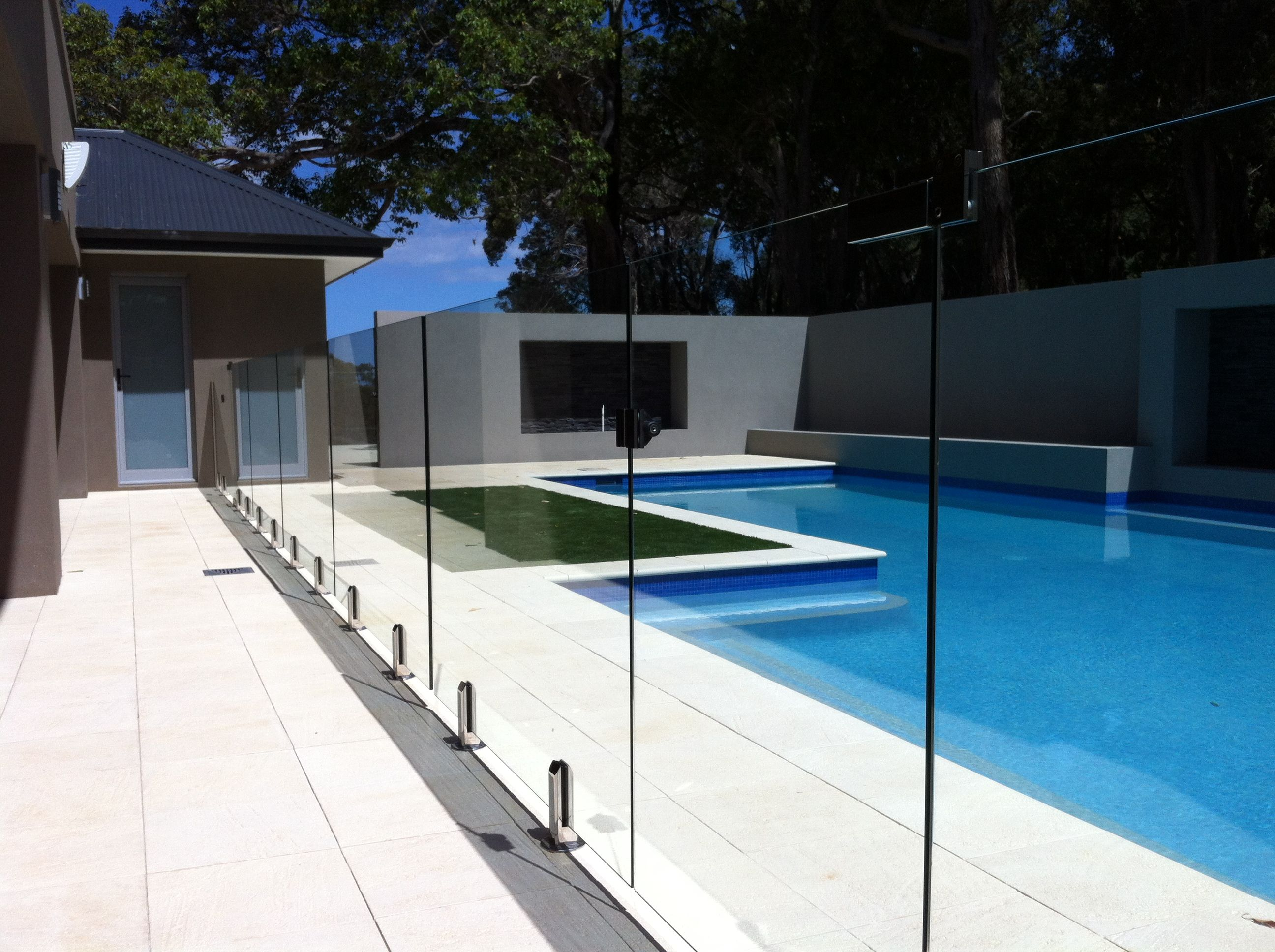 Example Of Our Work Ultimate Frameless Glass Pool Fence Glass Fence Wooden Fence
