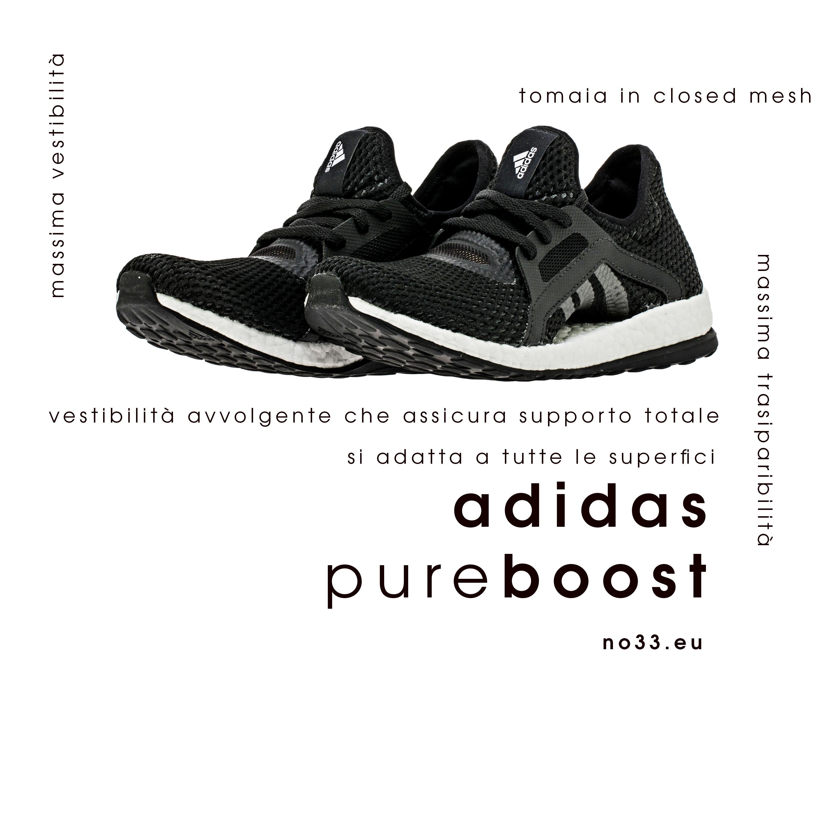 Adidas pure boost x core black solid gray   no33.eu   Pinterest ...