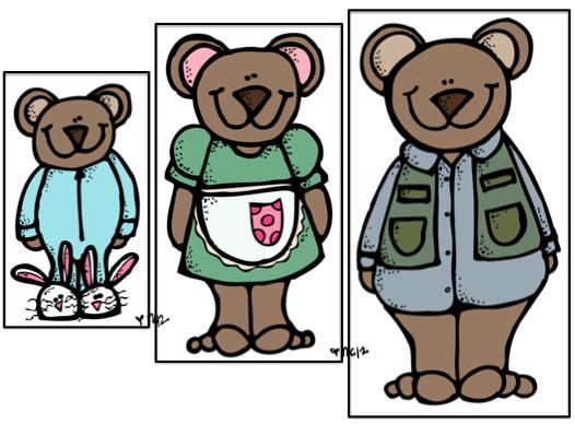 Goldilocks And The Three Bears Principle Clip Art - Male - Artwork  Transparent PNG